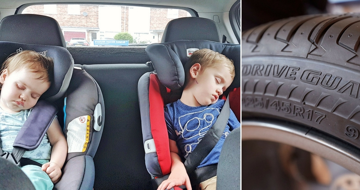 Keeping them safe - Bridgestone DriveGuard Giveaway