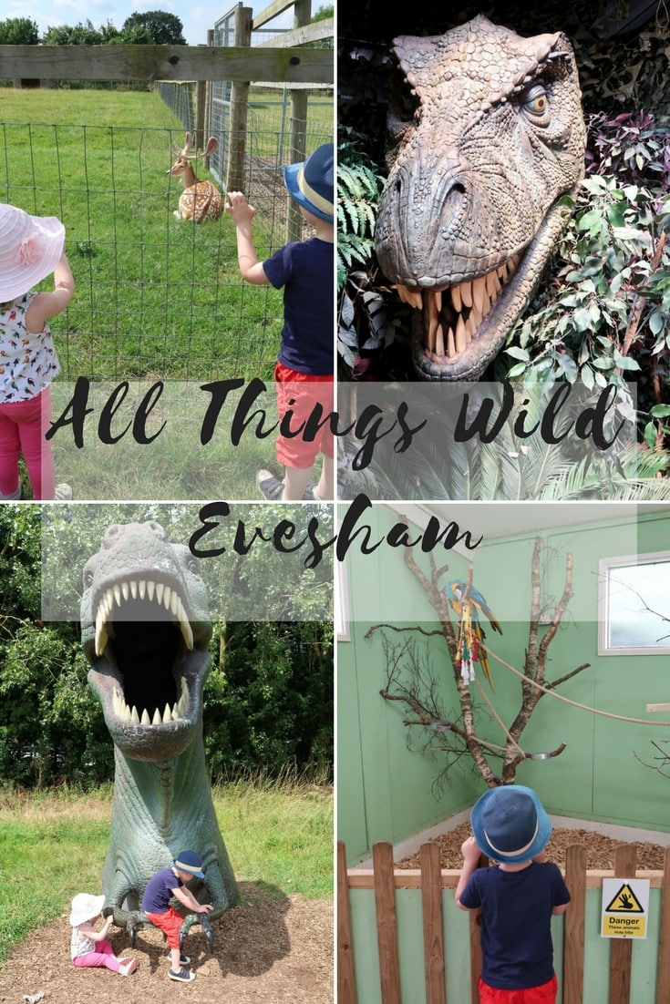 All Things Wild Evesham - a review of the wildlife park, Dinosaur experience and other family attractions.