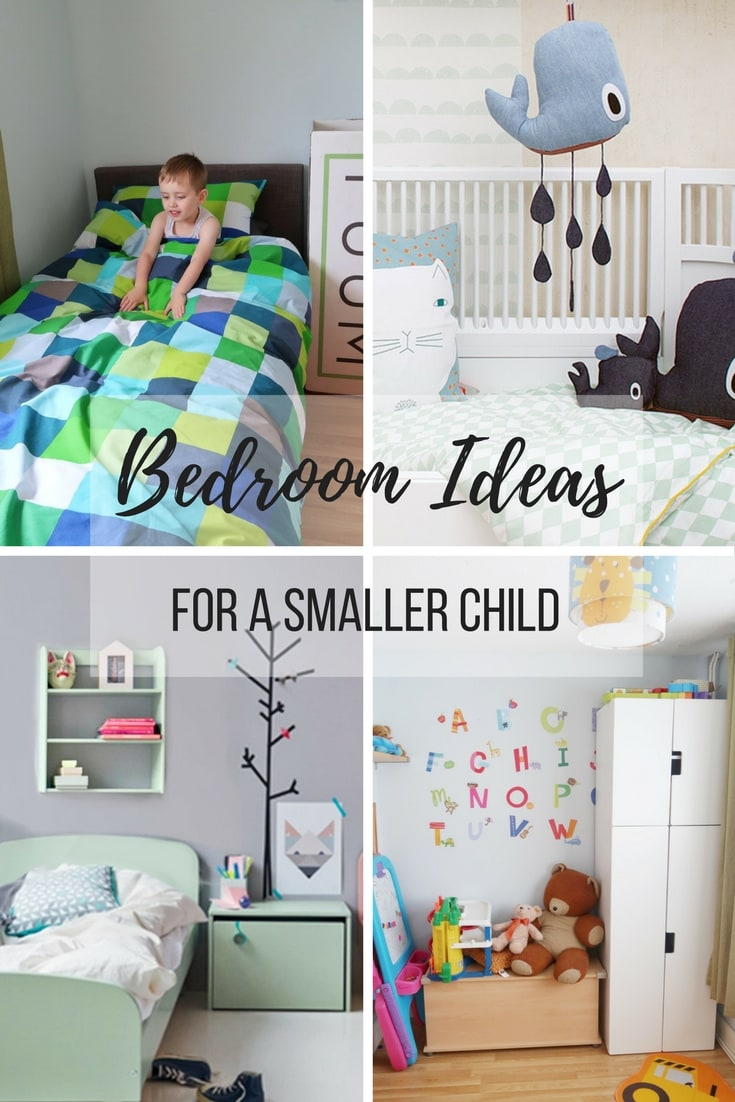 Bedroom Ideas for a Smaller Child - some ideas for furniture and decoration for a younger child's room. Aged 5-10