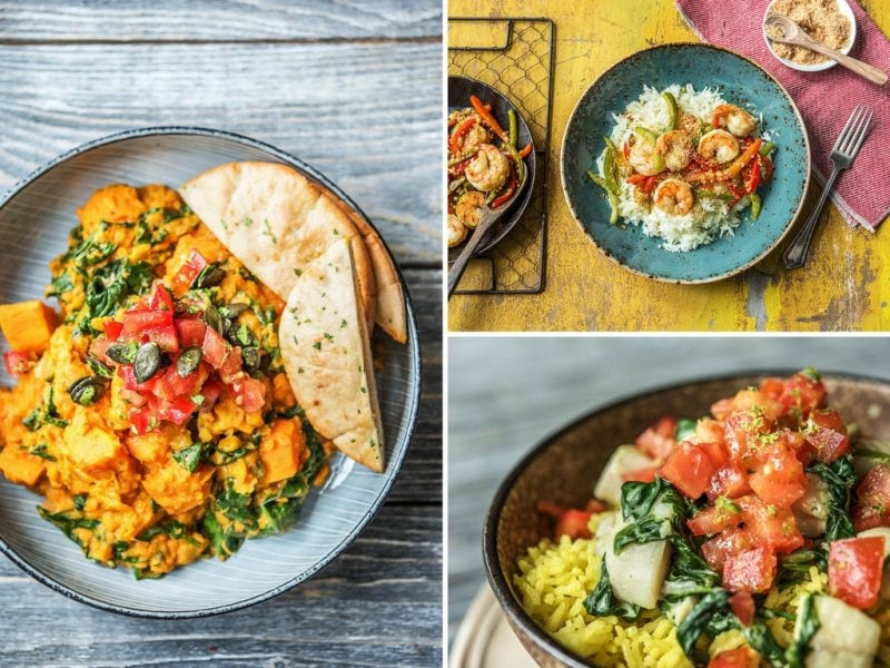 HelloFresh FreshPlaces Sri Lankan dishes