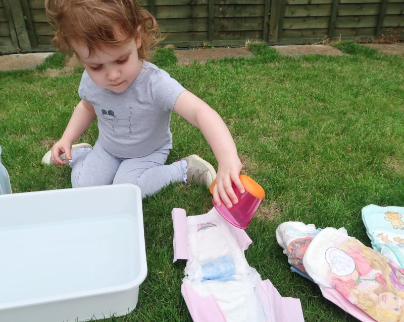 Learning wet from dry on the 6 steps to potty training success