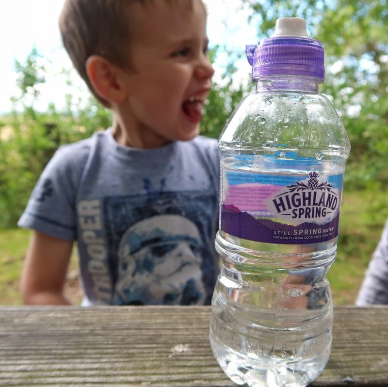 Brave by Nature with Highland Spring - boy at a picnic