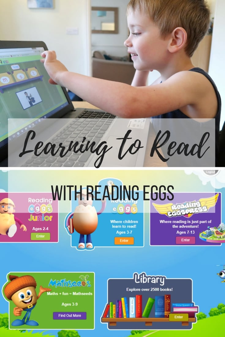 Learning to Read with Reading Eggs - a hugely effective programme for teaching your little one to read that is extremely engaging and educationally sound.