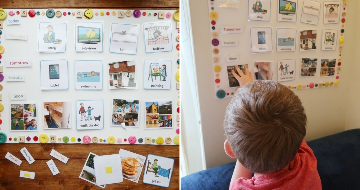 Visual Timetable for Starting School