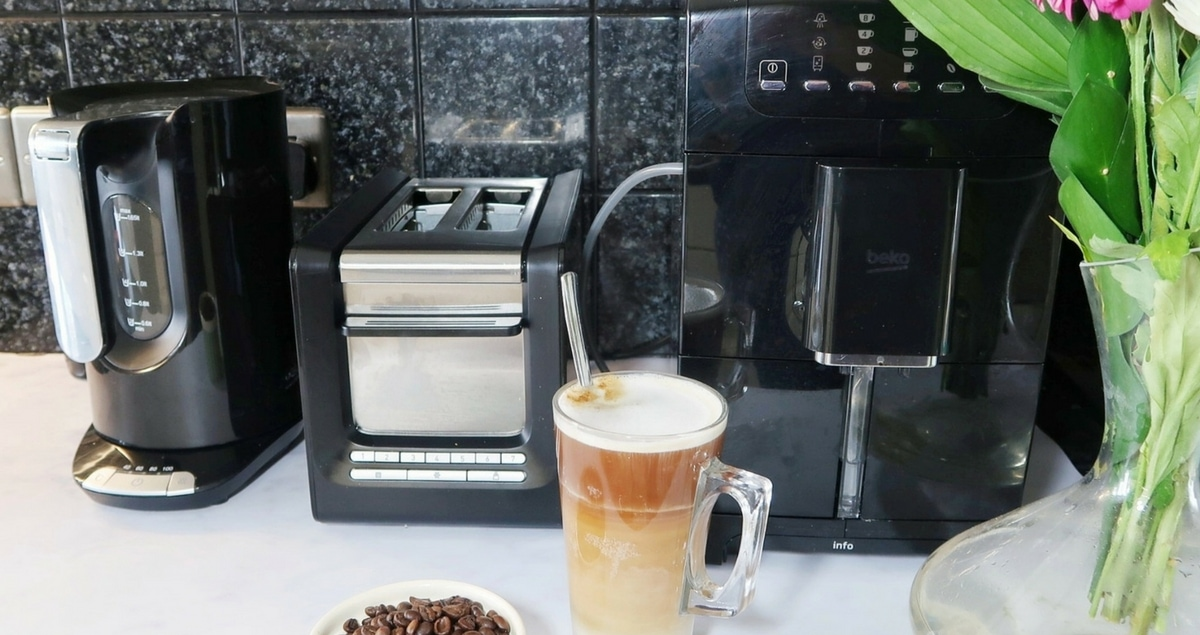 Win a Beko Bean to Cup Coffee Machine, Kettle AND toaster.