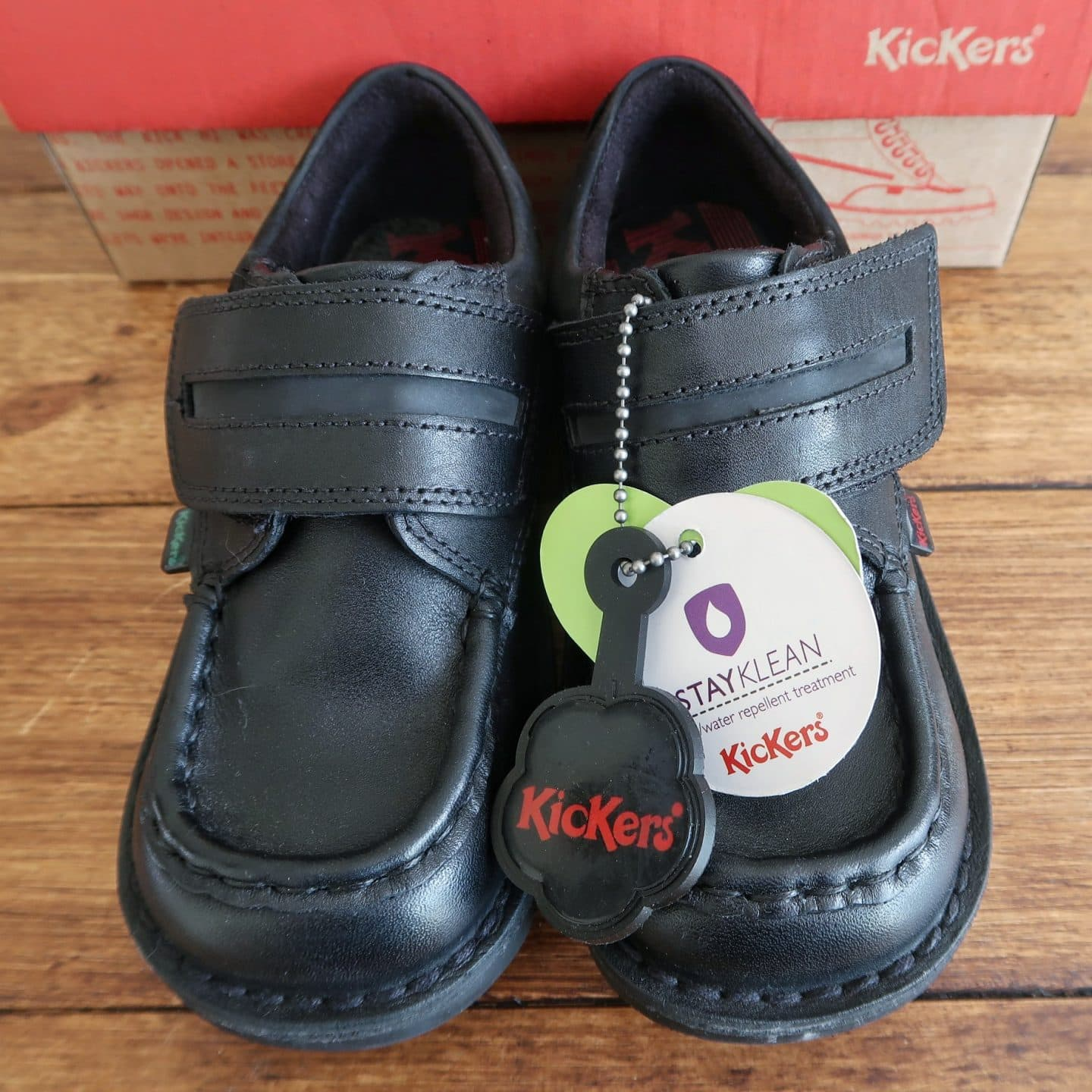 Kickers Kick Cyba Back to School shoes