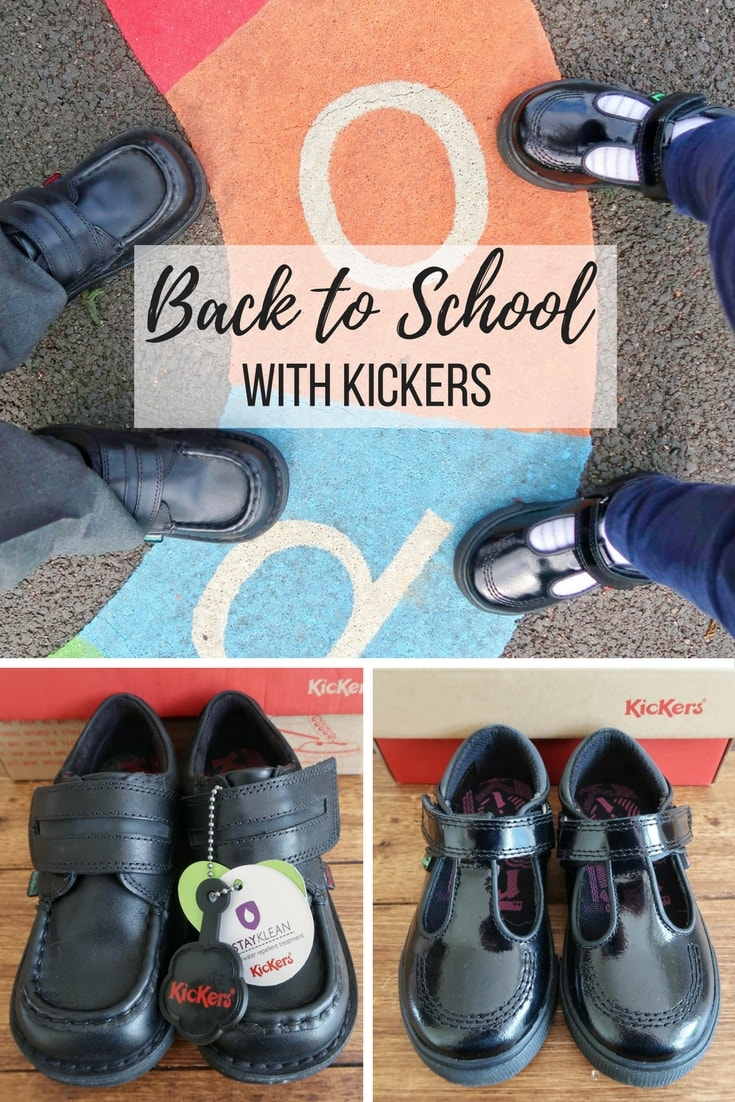 Back to School with Kickers - a look at the sturdy school shoes available for boys and girls from the autumn 2017 collection.