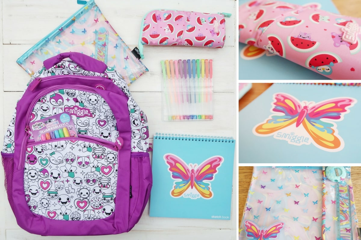 Smiggle Stationery to Rock School