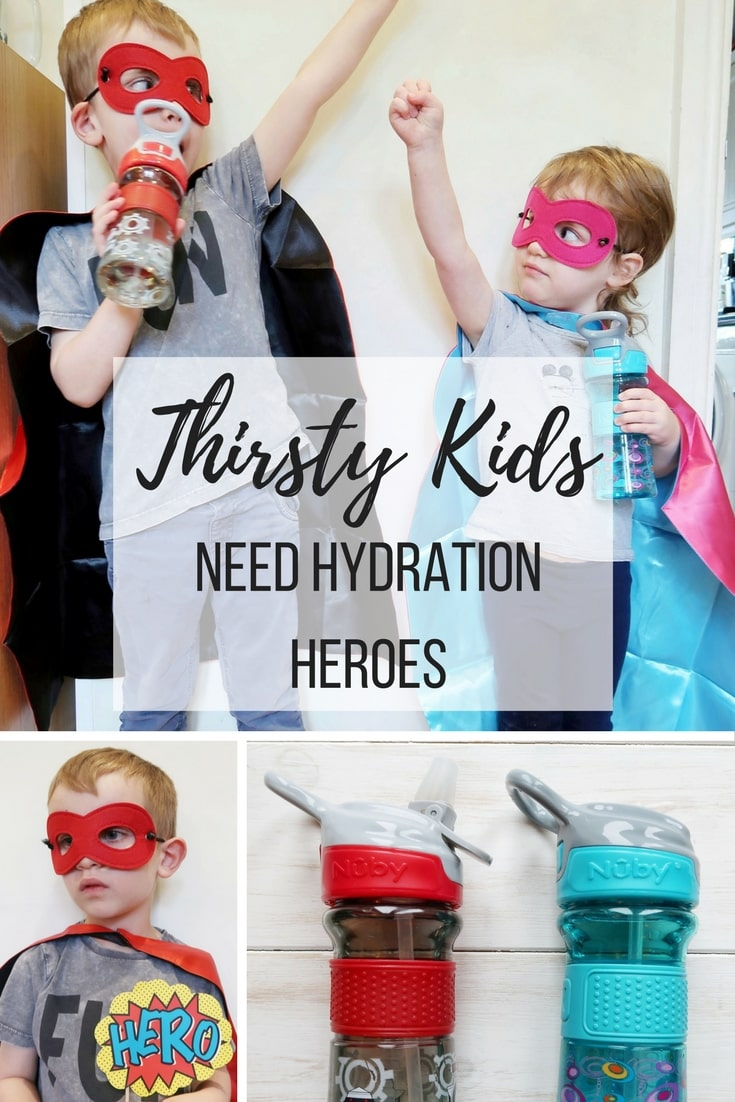 Thirsty Kids - a new range of cups from Nuby which aim to help keep kids hydrated in a fun way.