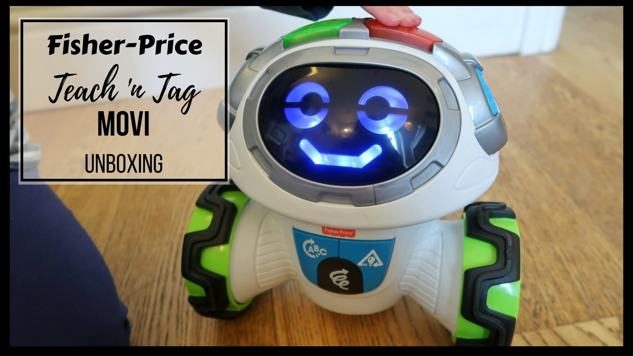 Fisher Price Teach 'n Tag Movi Review and Unboxing