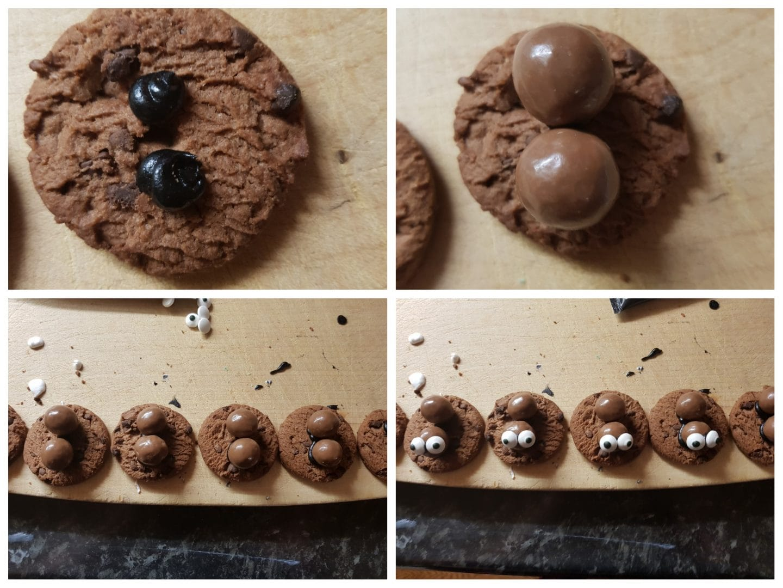 How to make your Spooky Halloween Cookies - Spider cookies