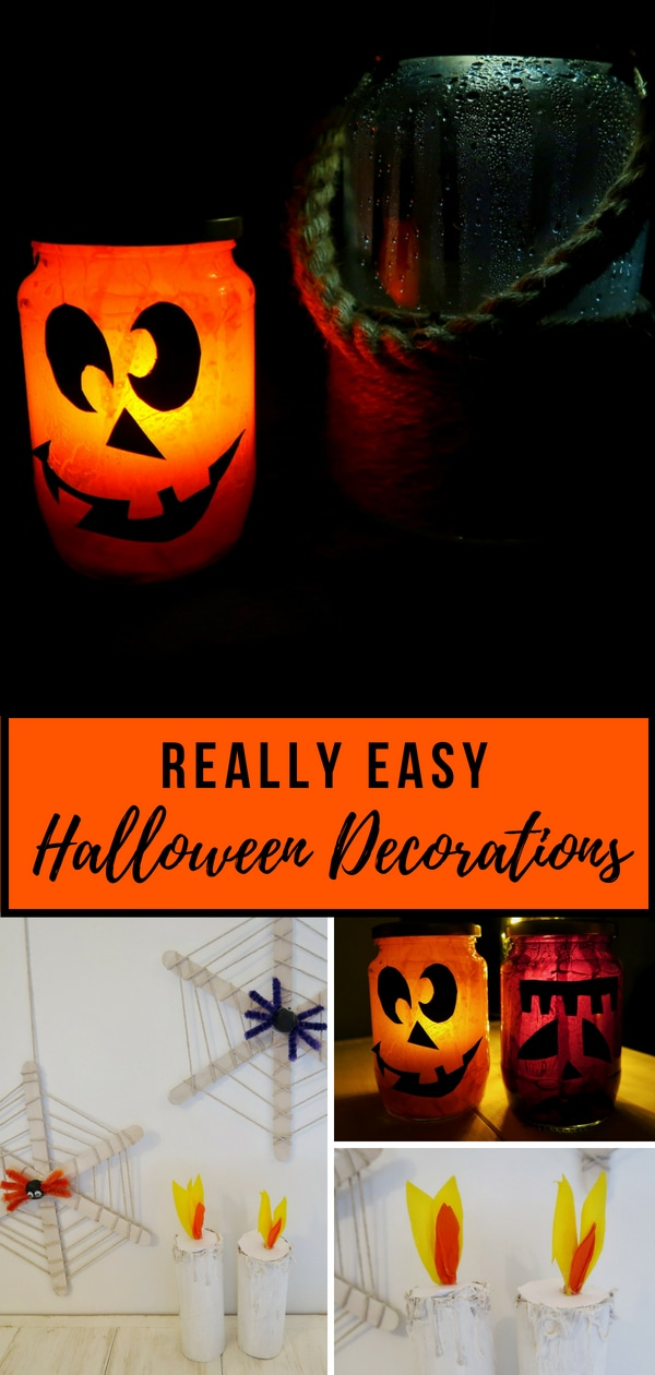 Really Easy Halloween Decorations