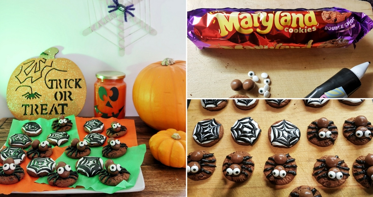 Really Easy Spooky Halloween Cookies with Maryland