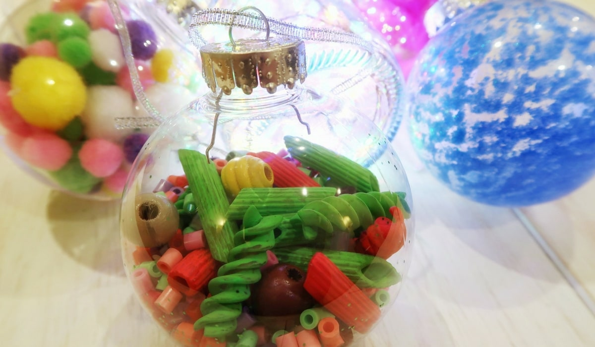 Christmas Sensory Bauble Craft