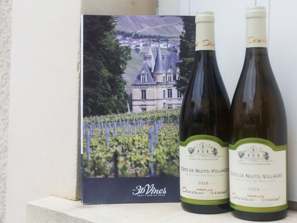 The wine welcome pack - rent a vine