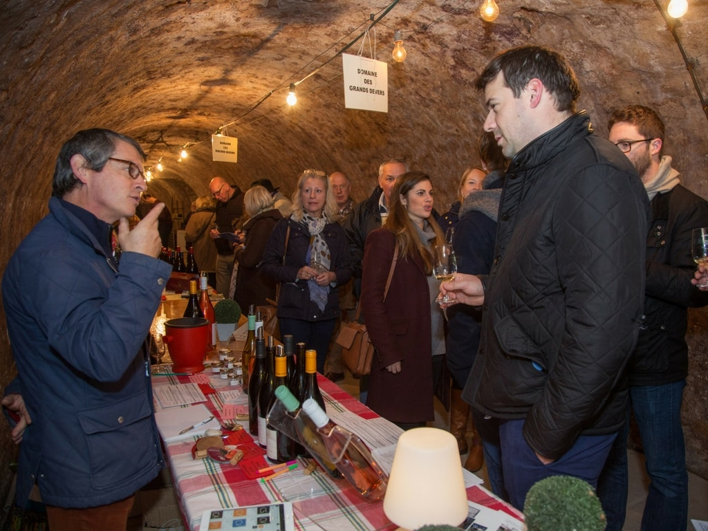 Wine Event - people browsing and tasting wine - rent a vine.