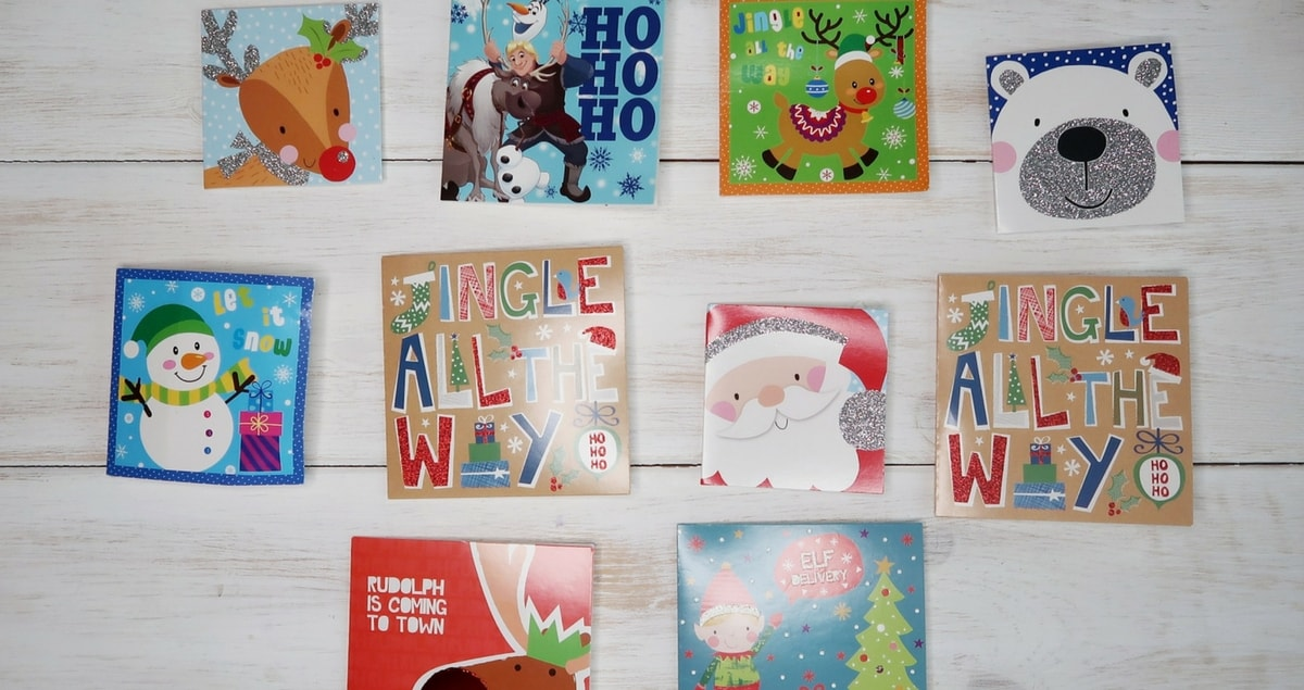 Christmas Dilemma - lots of little Christmas Cards