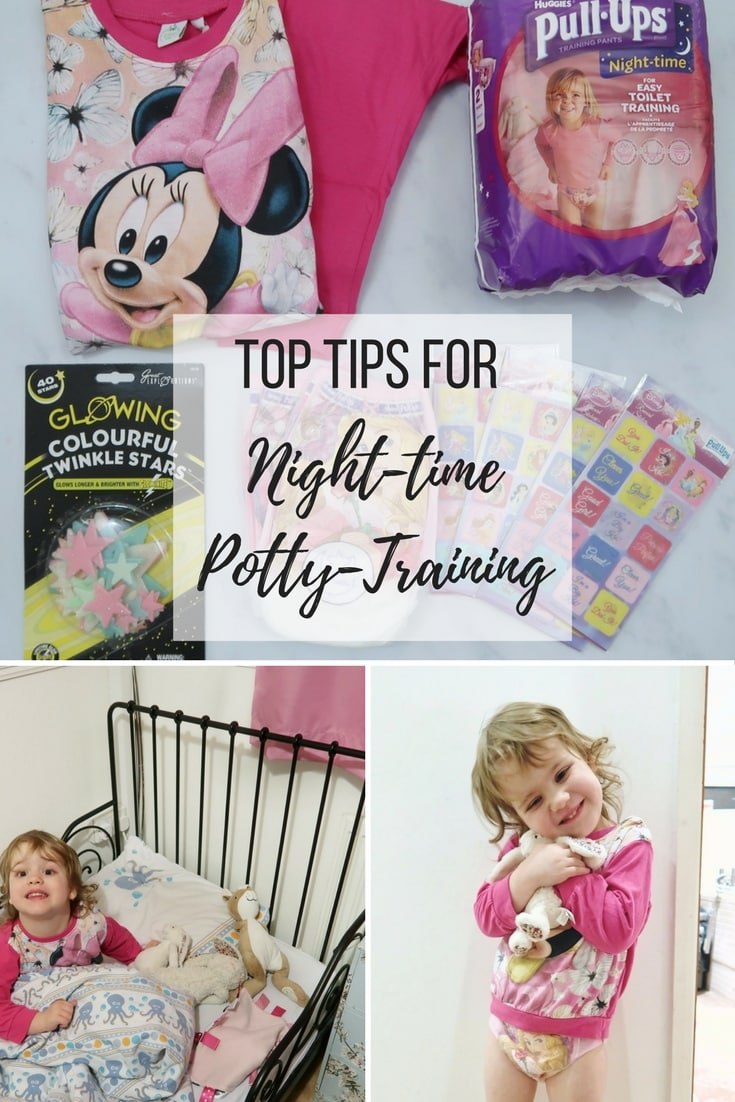 Top Tips For night-time potty-training with Huggies pull-ups