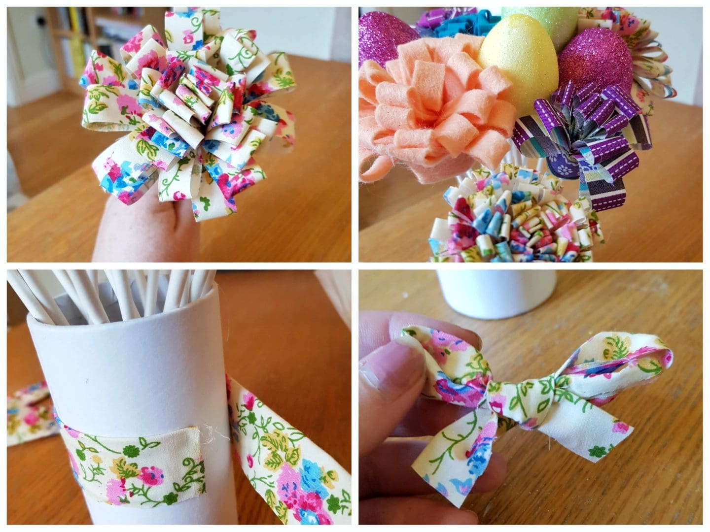 How to make small paper and ribbon flowers the most beautiful how to make small paper flower making flowers by mightylinksfo