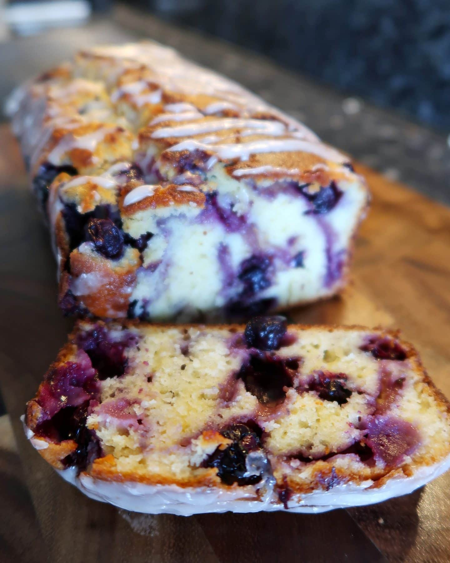 Weight Watchers Bakes Blueberry cake