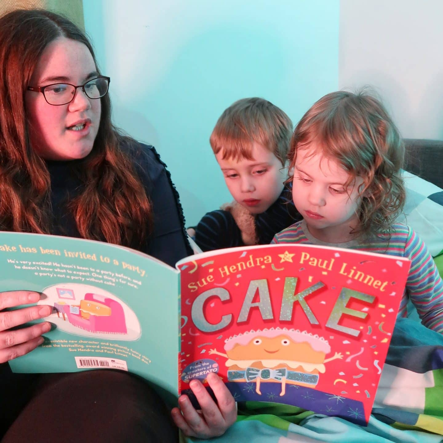 Our bedtime routine - bath, book, bed with bookstrust