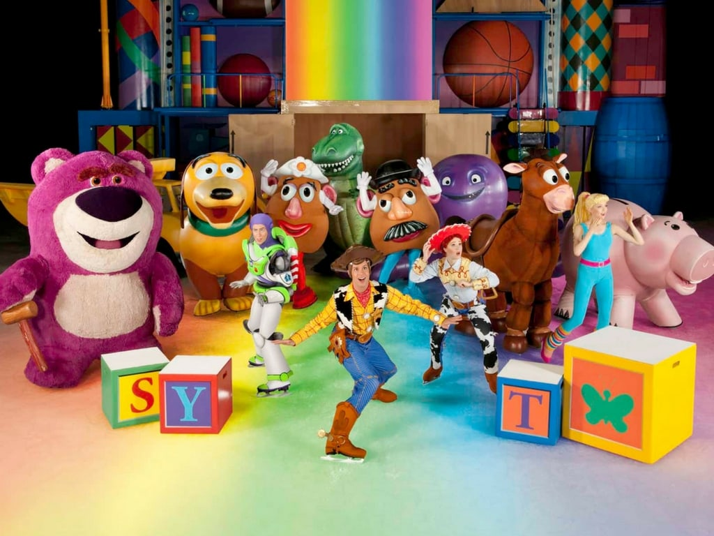 Disney on Ice - Toy Story characters