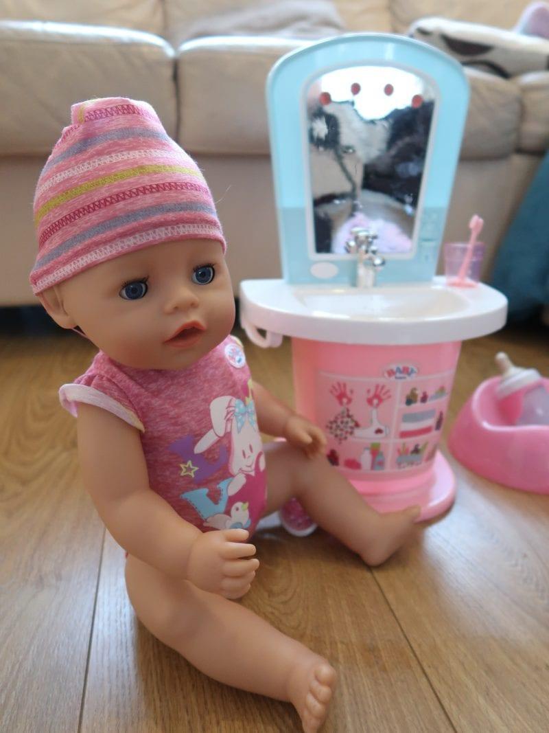 Baby Born and Wash Basin