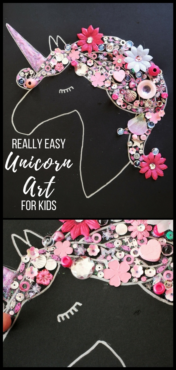 Really Easy Unicorn Art and Craft for Kids