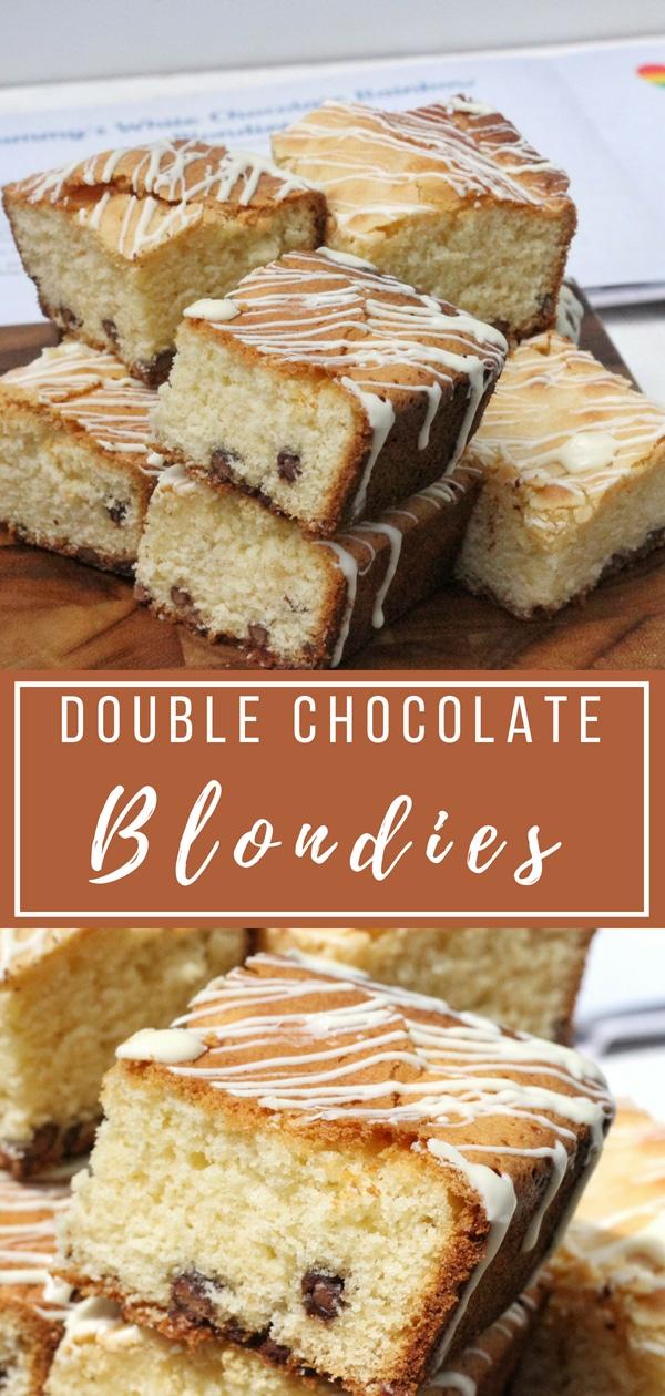 Double Chocolate Blondie Recipe