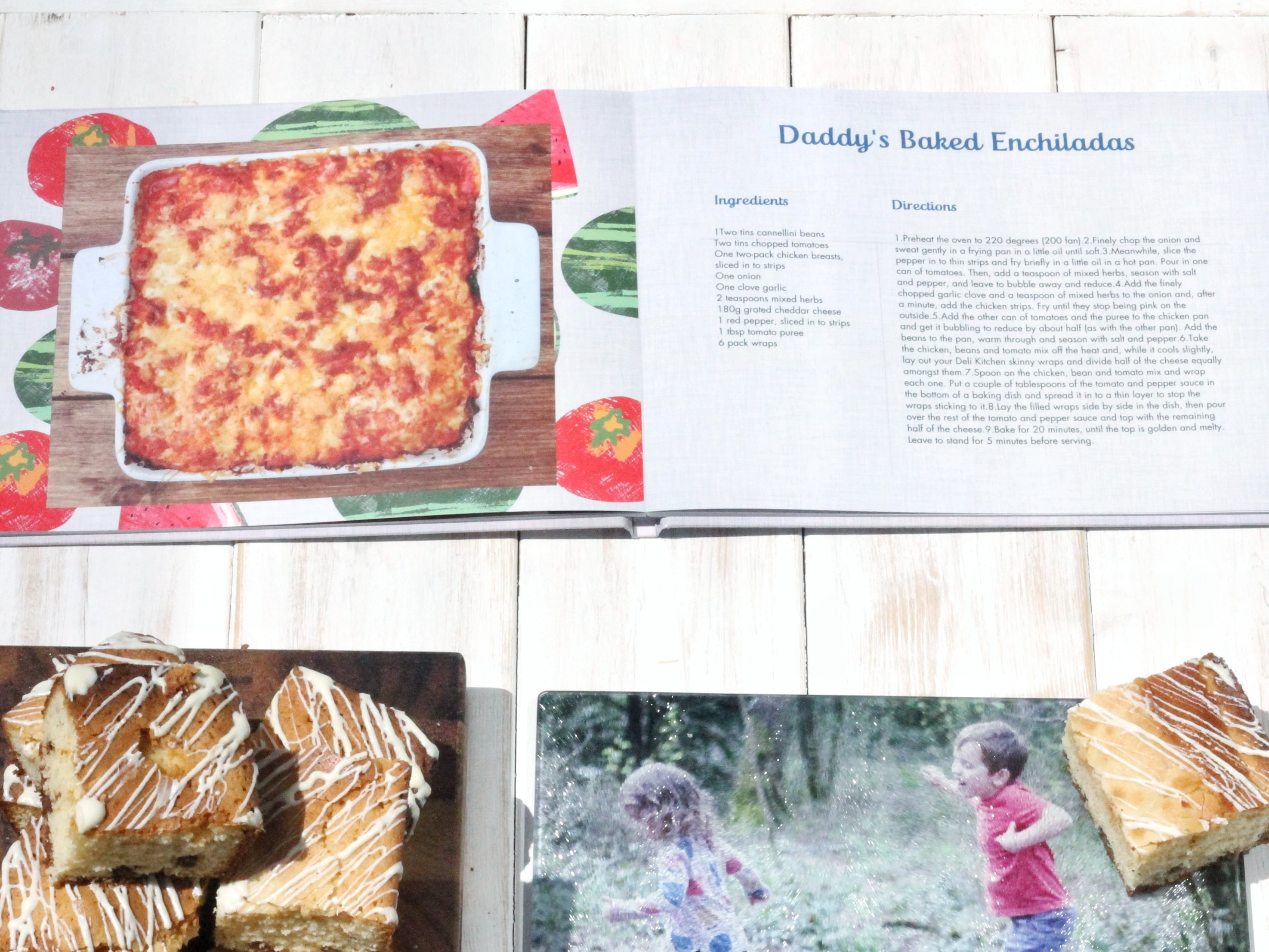 Cookery photo book from snapfish