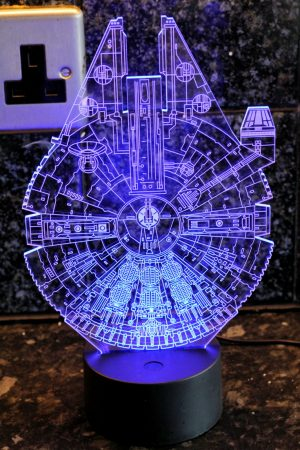 LED lamp Millenium Falcon - Father's Day Gift Guide