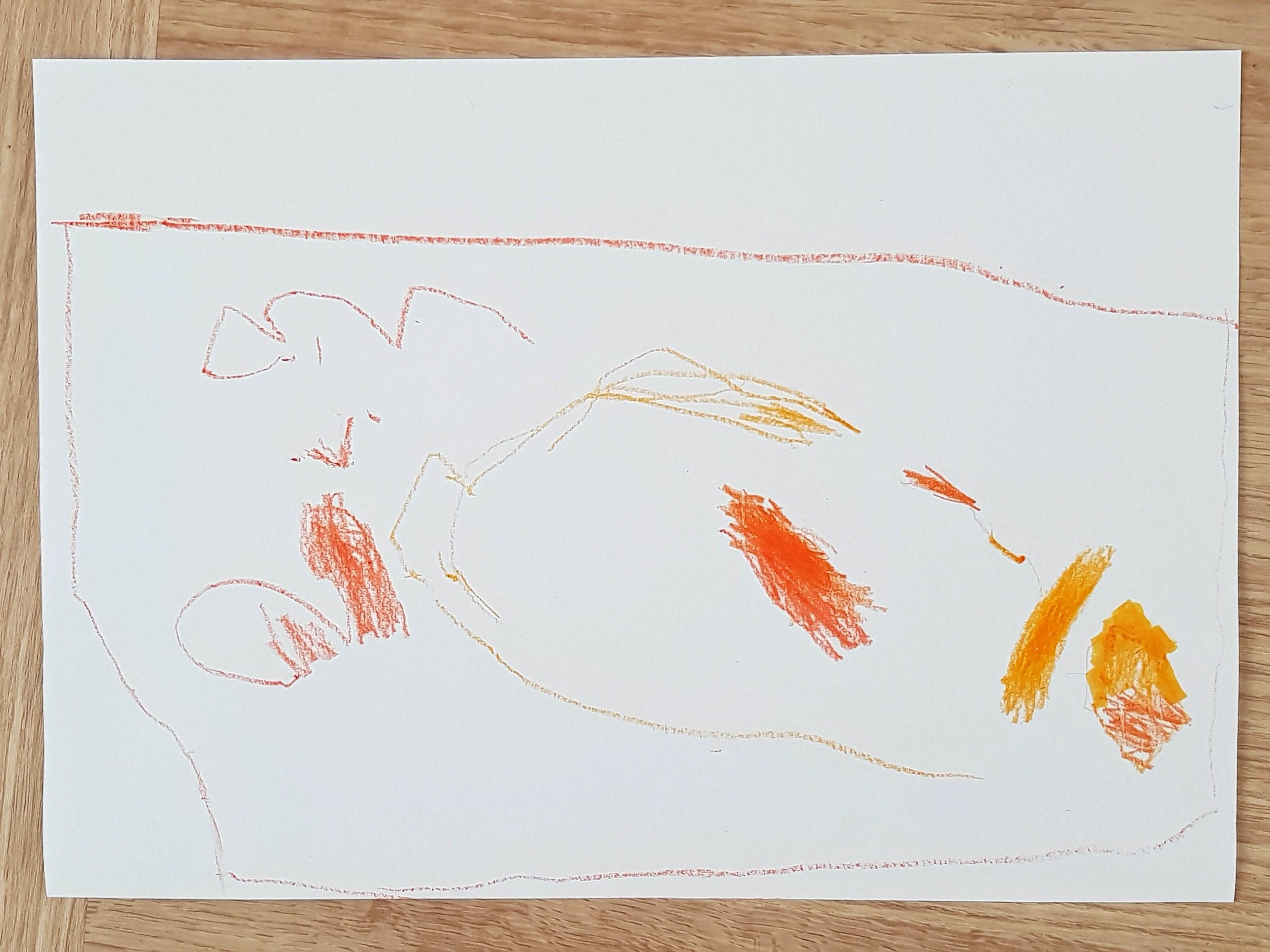 Littlest's final picture of Bassetts Omega-3 orange
