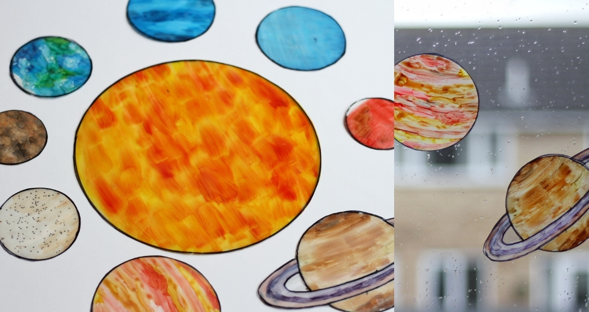 Solar-System Sun Catchers Feature
