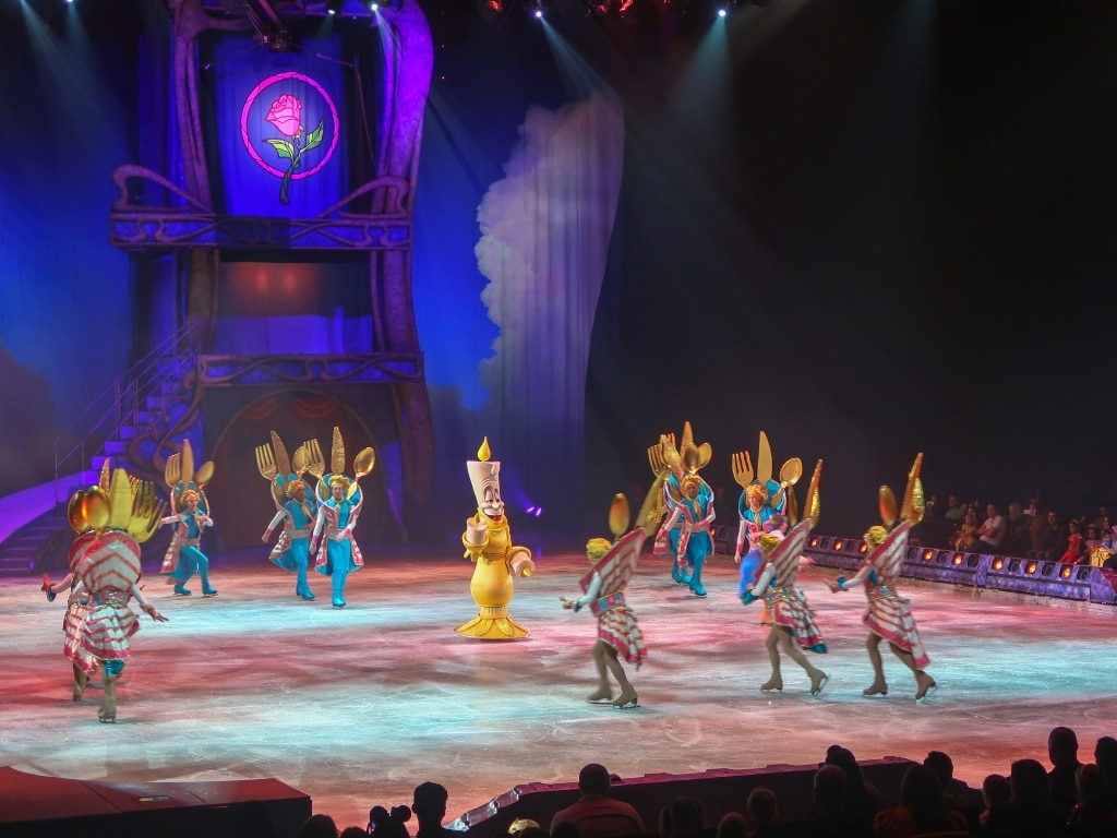 Beauty and the Beast Disney on ice dream big