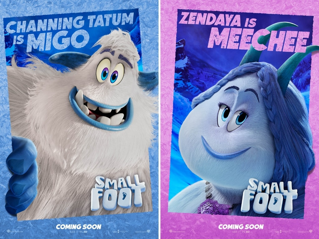 Character Posters - Smallfoot