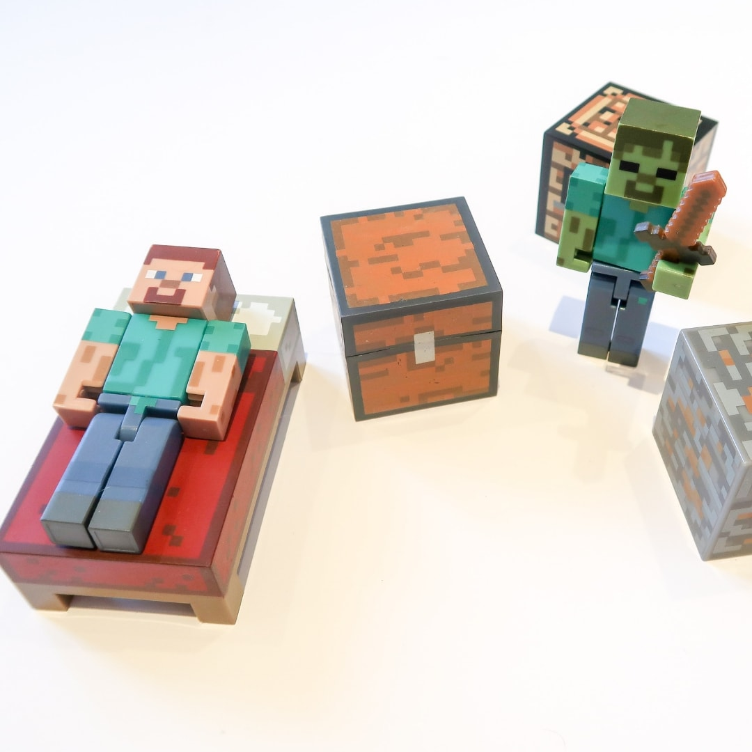 Minecraft Gifts - toy figures
