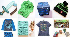 Minecraft Gifts list collage