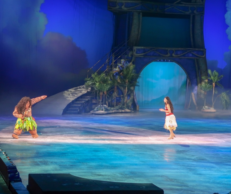 Moana in Disney on Ice presents Dream Big
