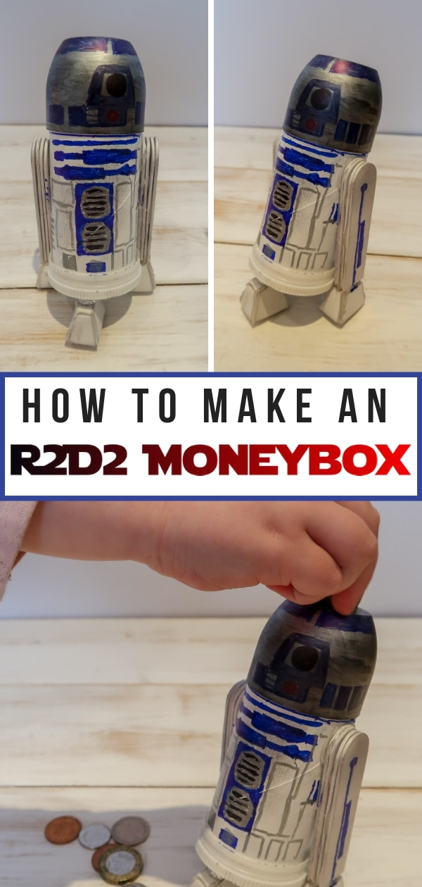 R2D2 Moneybox Craft