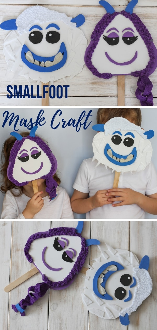 Smallfoot mask craft
