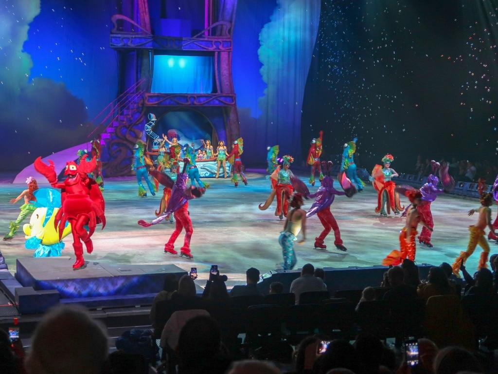 The Little Mermaid Disney on ice dream big
