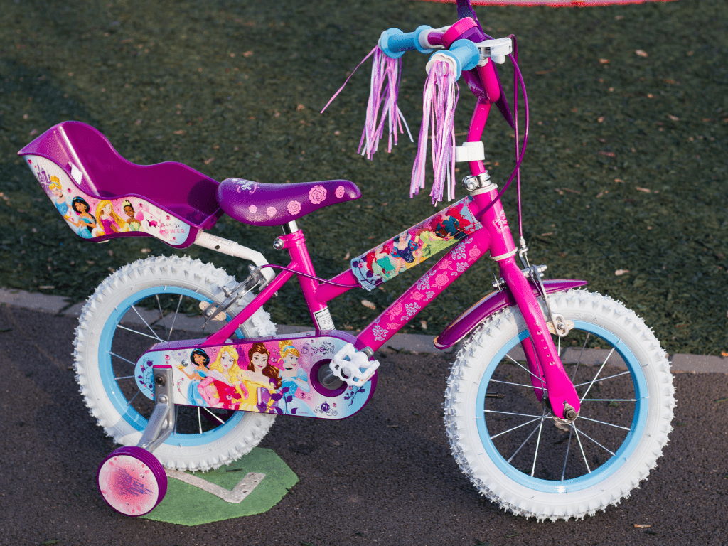 Disney Princess bike from Halfords