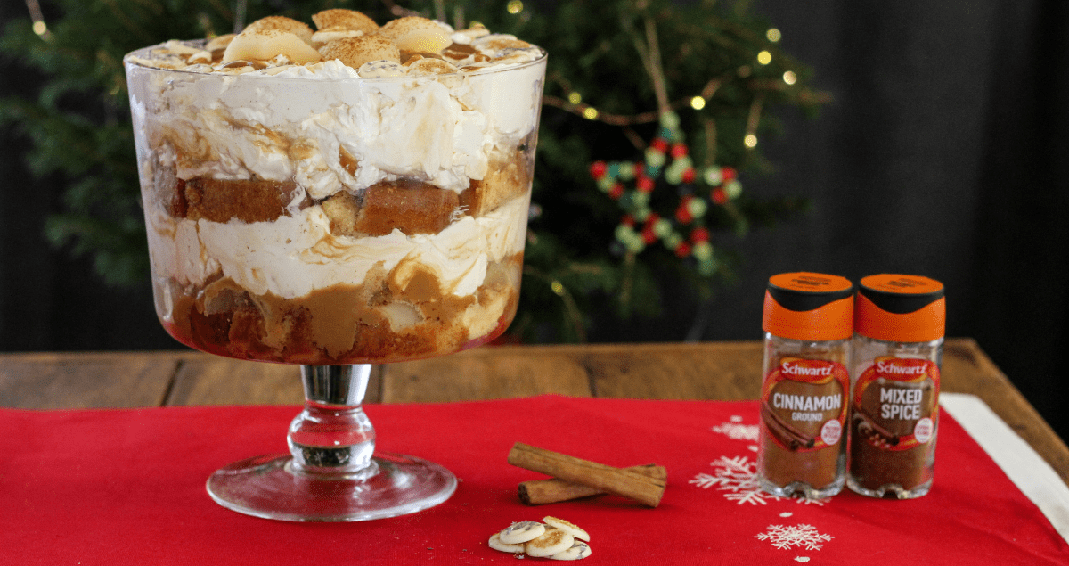 Pear and Caramel Trifle Feature