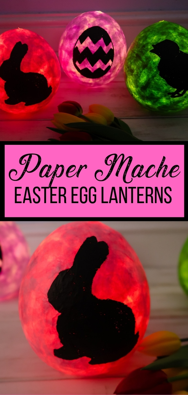 Pin for Paper Mache Easter Lantern craft