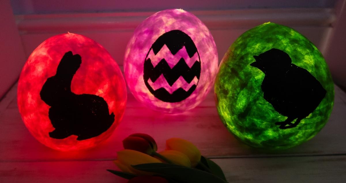 Paper Mache Easter Lanterns