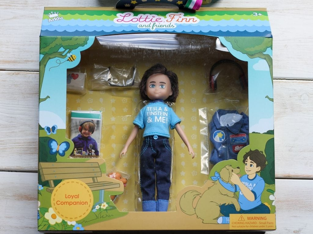 Loyal Companion Doll  from Lottie Dolls in box