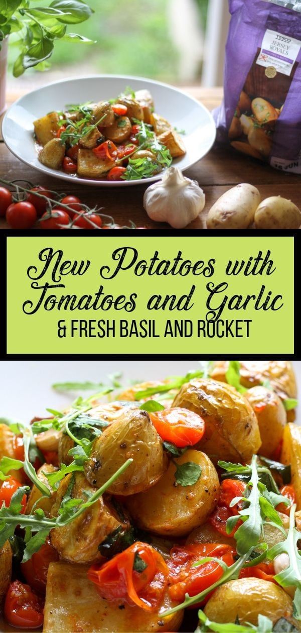 New Potatoes with Tomatoes and Garlic pin