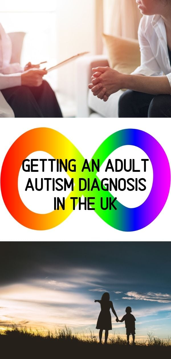 Getting an Adult Autism Diagnosis in the UK - pin