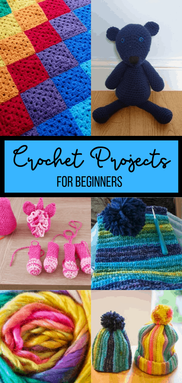 Crochet Projects for Begginers Pin