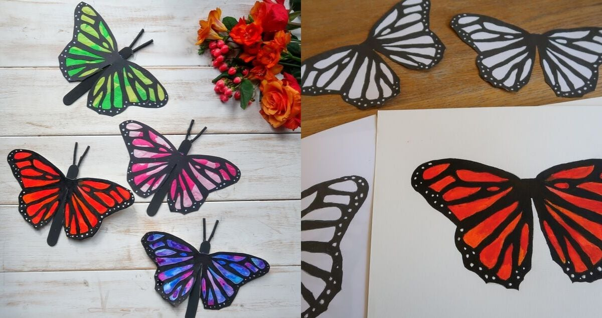 Easy Butterfly Craft feature